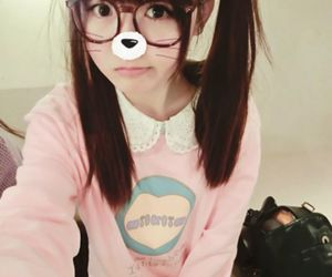 asian, cat, and kawaii image