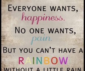rainbow, quotes, and happiness image