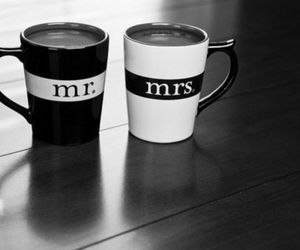cup, mr, and mrs image
