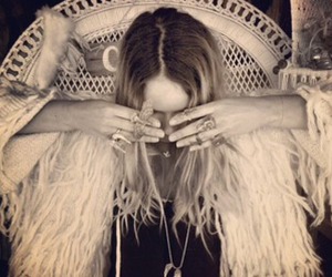 blond, vintage, and gypsy image