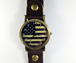 american flag, fashion, and jewelry image