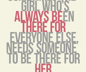 quote, her, and sad image