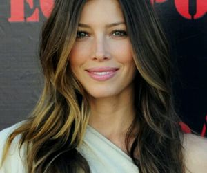 hair, jessica biel, and ombre image