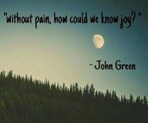 john green, joy, and quote image
