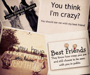 best friends, bff, and crazy image