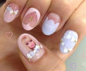 nails and barbie image