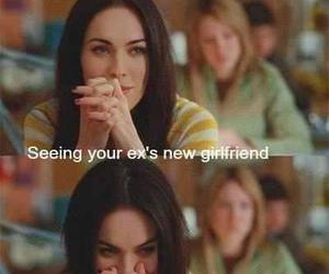 ex, megan fox, and girlfriend image