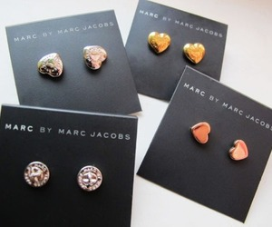 marc jacobs, earrings, and accessories image