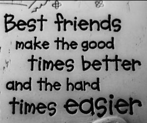 best friends, time, and life image