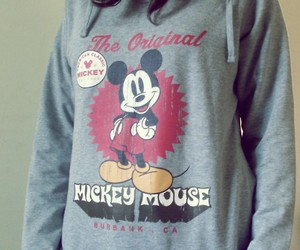 clothes, mickey, and cold image