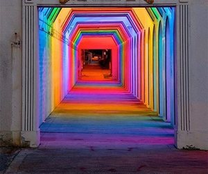 colors, light, and rainbow image