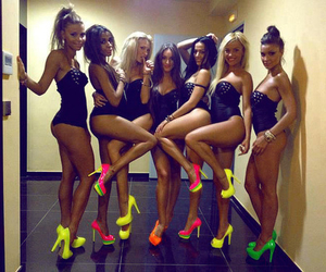 girl, sexy, and shoes image