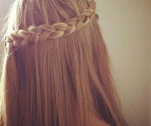 blonde, braid, and princess image