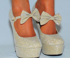 heels and bow image