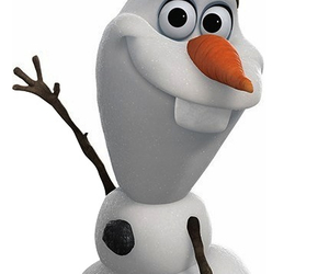 olaf, frozen, and snowman image