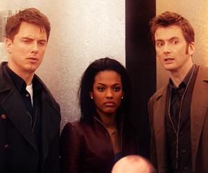 tenth doctor, martha jones, and doctor who image