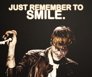 dougie poynter, McFly, and smile image