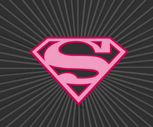 superman and pink image
