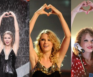 hands, rain, and Taylor Swift image