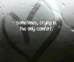 love, cry, and crying image