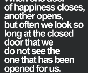 door and happiness image