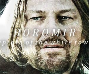 LOTR, the lord of the rings, and boromir image