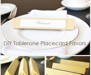 diy, favors, and toblerone image