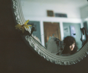 flower, memories, and mirror image