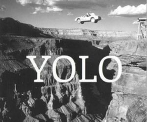 yolo and funny image