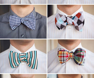 bow, boy, and tie image