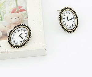 clocks, cool, and street style image
