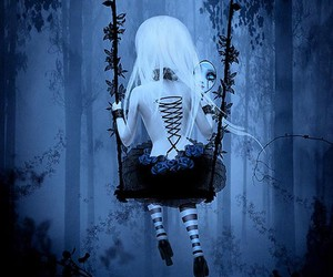 alone, kerli, and love is dead image