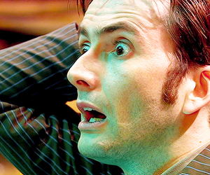 tenth doctor, david tennant, and doctor who image