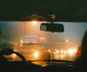 car, light, and night image