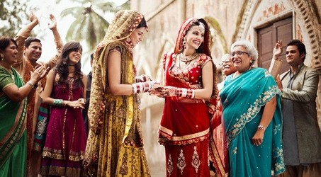 lesbian, couple, and marriage image