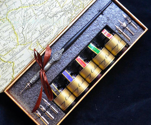 gift, art craft, and quill dip pen image