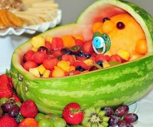 creative, melon, and baby image