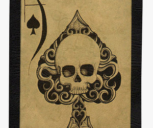 ace, ace of spades, and poker image