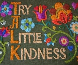 flowers, kindness, and quotes image