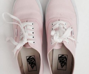 vans, pink, and shoes image