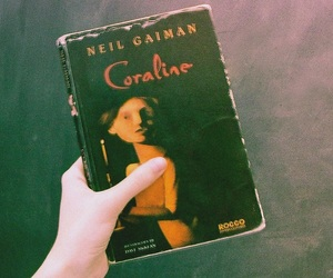 book, coraline, and vintage image