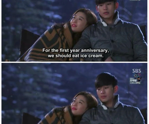 ice cream, quotes, and kdrama image