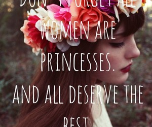 Best, flowers, and princesses image