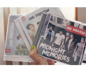 one direction, midnight memories, and music image