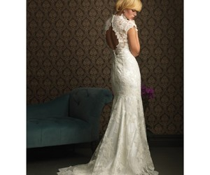bridal, bridal gown, and empire image