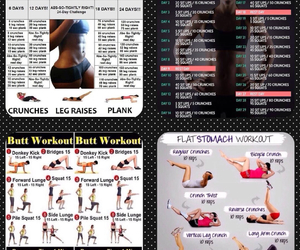 exercises, fitness, and tips image