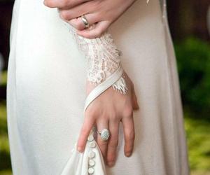 wedding, dress, and bella swan image