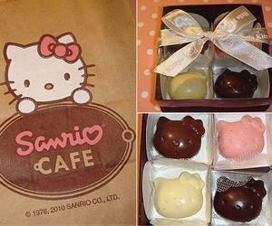 chocolate, hello kitty, and cute image