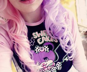 pink, kawaii, and pastel goth image