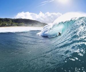 amazing, surf, and wave image